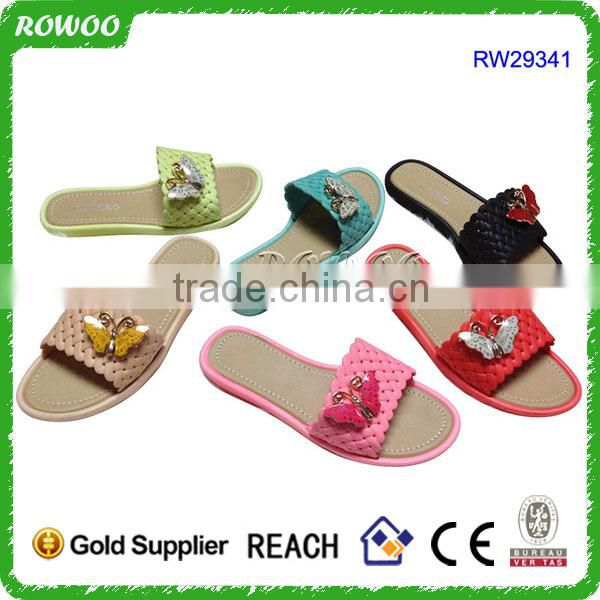 Promotional Slide Braid Strap PVC Sandals