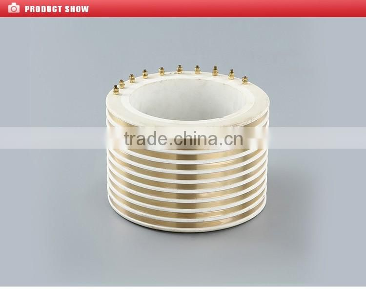 traditional slip ring 150x216x166-10 conductive slip ring