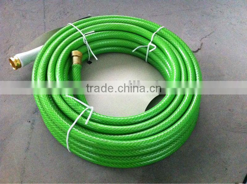 colored PVC elastic Garden Hose reel with connectors
