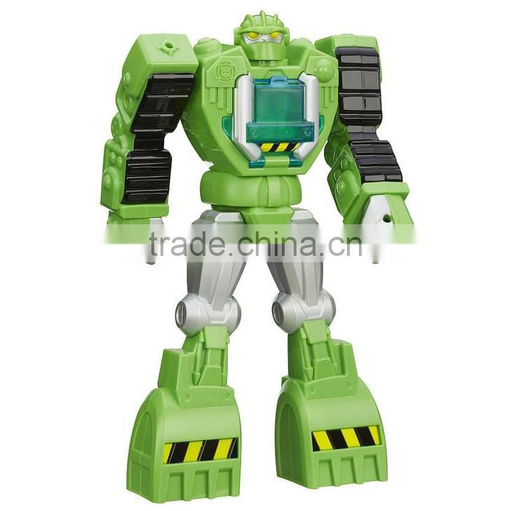 custom make plastic 3d moveable toy figure,OEM design 3d movable robot plastic figure toy