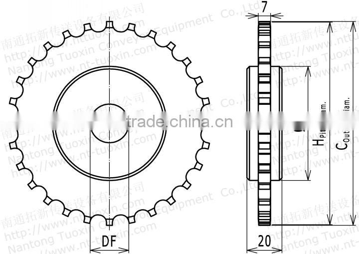 M-SNB Machined Classic Sprocket