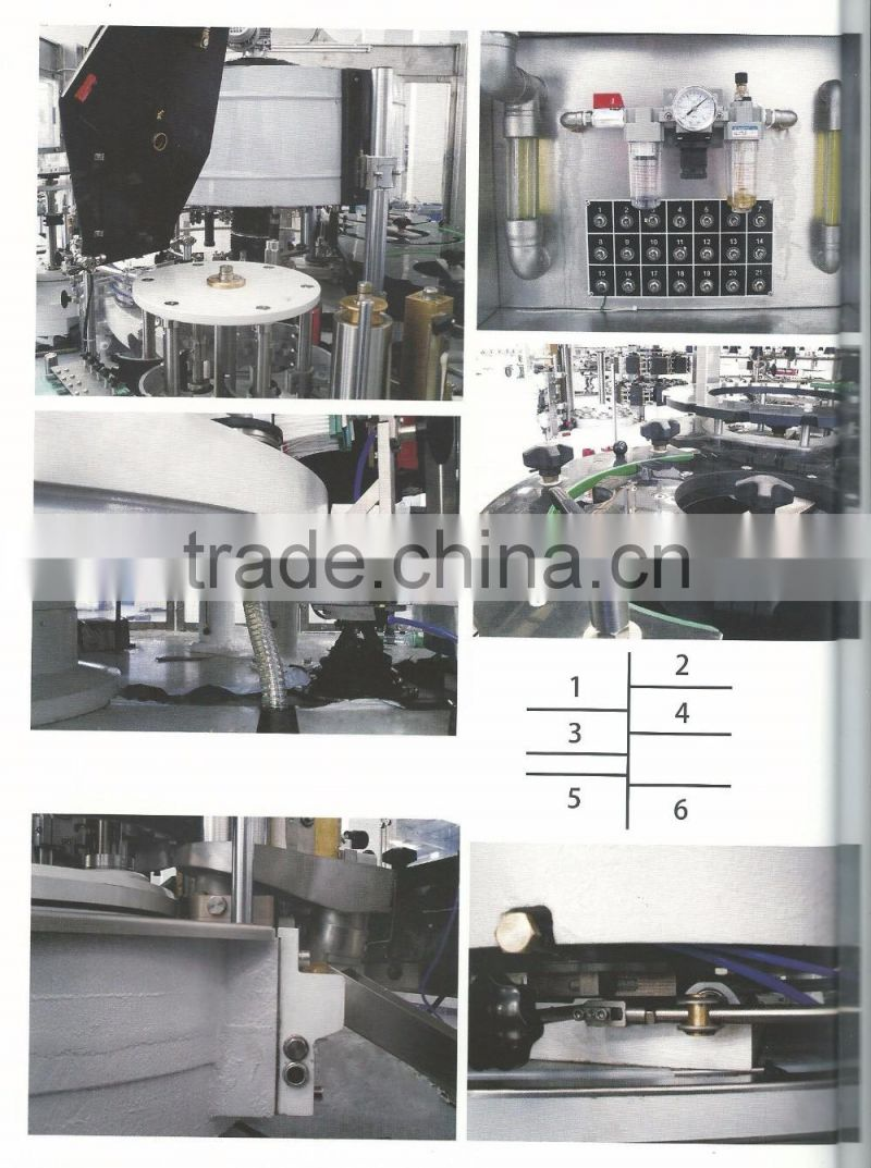 HM3Y4H-60S Automatic Modular Servo Positioning Round & Square Bottle Labeling Machine