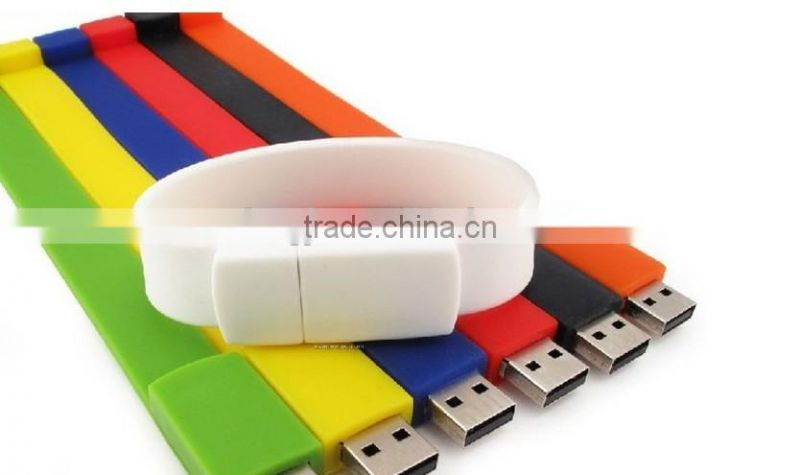 Bracelet Portable USB bracelet usb cable Colorful USB 2.0 Sync (Black)