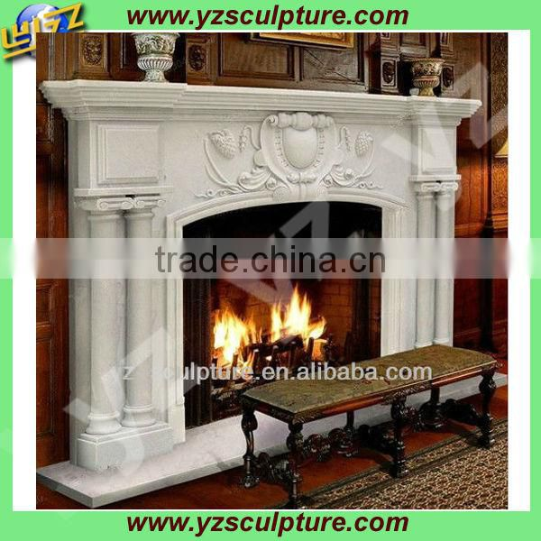 home decor classic fireplace mantel for sale