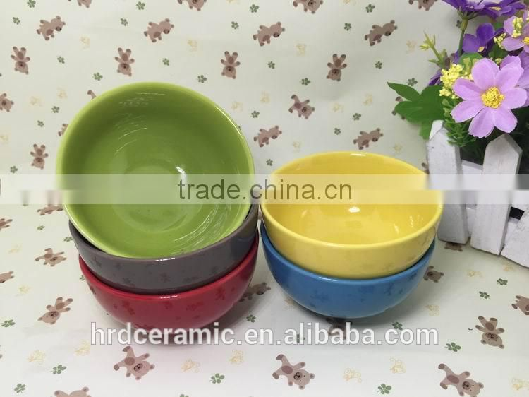 Stocked Ceramic Bowl Ceramic Salad Bowl Ceramic popcorn bowl