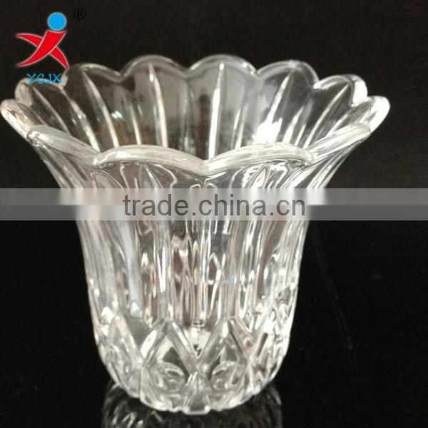 wholesale beautiful fashionable glass/high quality toughened glass products can be customized LED glass lamp shade