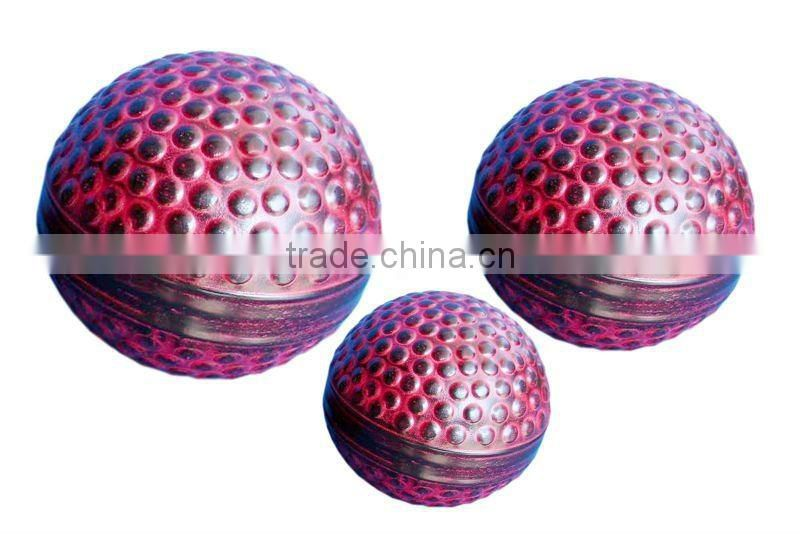 Christmas Decor Balls, hammered pattern Set of 3 sizes