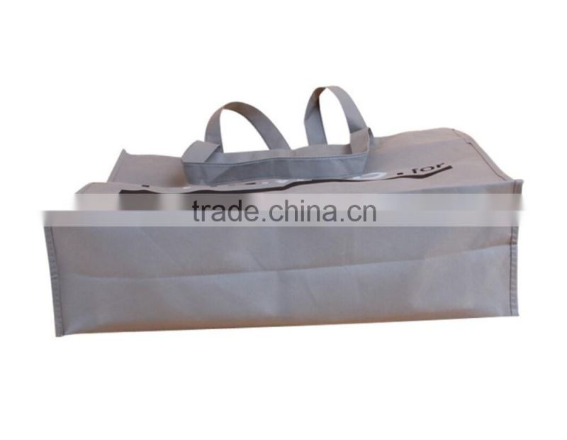 hot sale 2015 recycle high quality eco promotional grey non woven bag