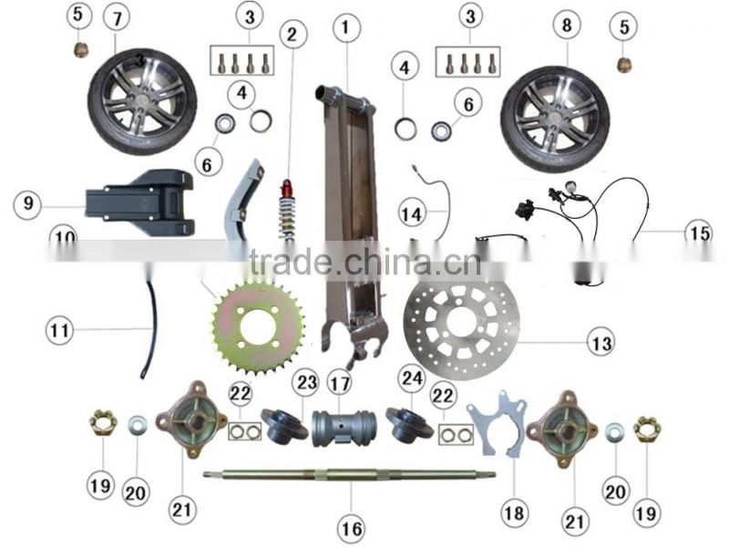 ATV CDI Spare Parts, GY6 150CC CDI