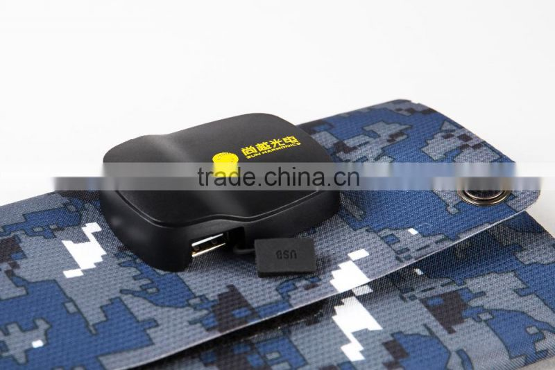 FLEXIBLE PORTABLE ROLLABLE WATERPROOF SOLAR Charger