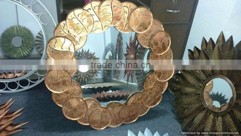 new modern design fancy home decor wall mirror