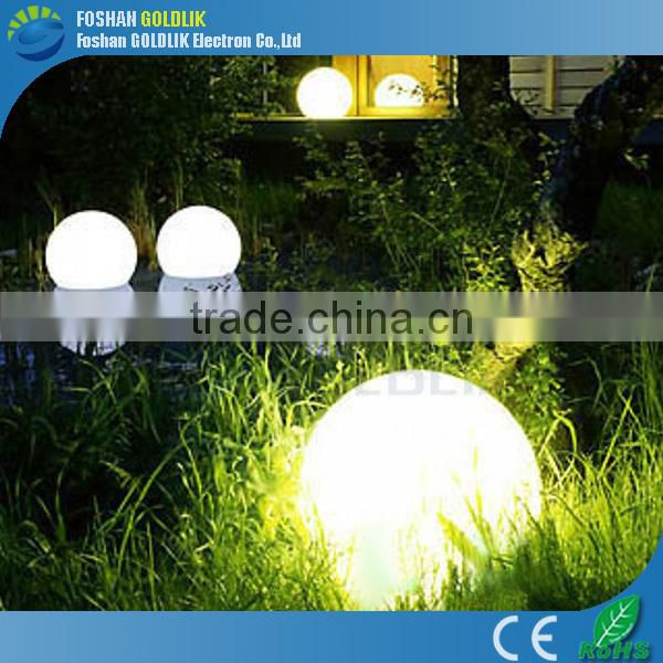 For Gardens and other public areas light up christmas balls GKB-025RT