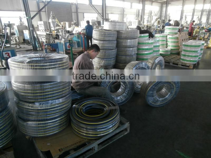 Reliable quality guarantee 1inch pvc braided hose pipe