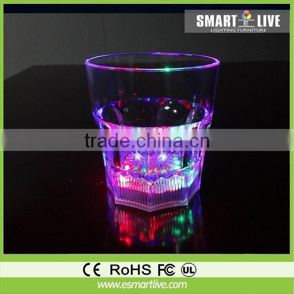 150ml Acrylic Promotional lighting Cocktail glass