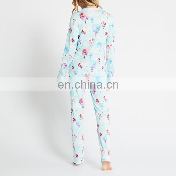 New products 2017 satin ribbon print women onesie pajamas wholesale