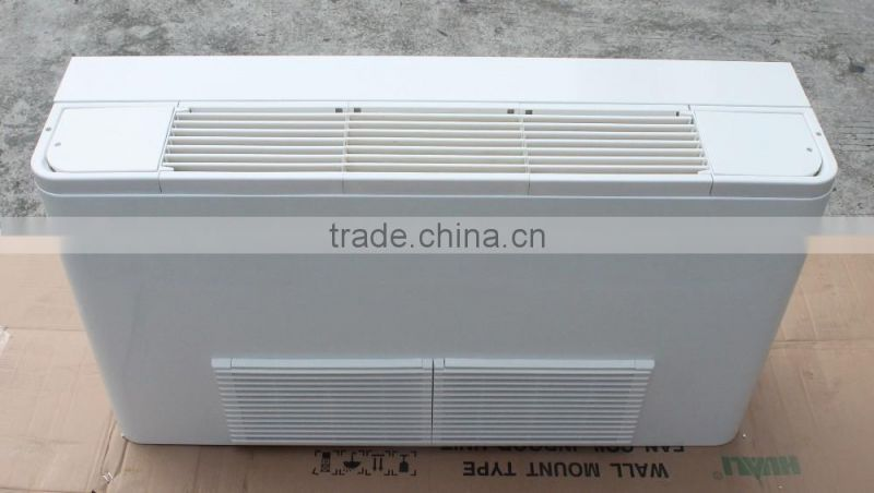 Vertical exposed fan coil unit