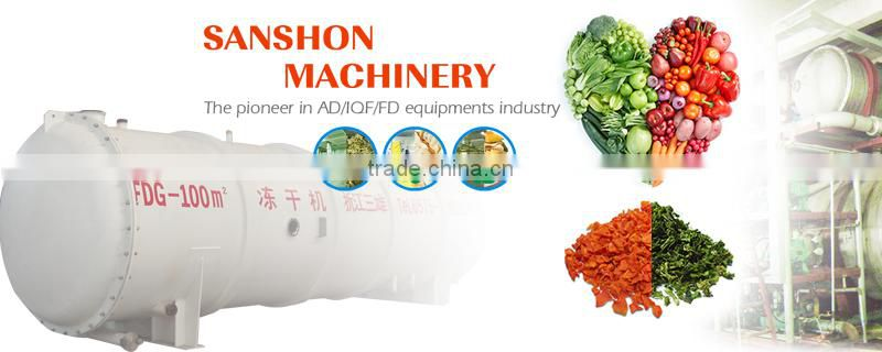 Advanced fruits and vegetables IQF quick freezer machine
