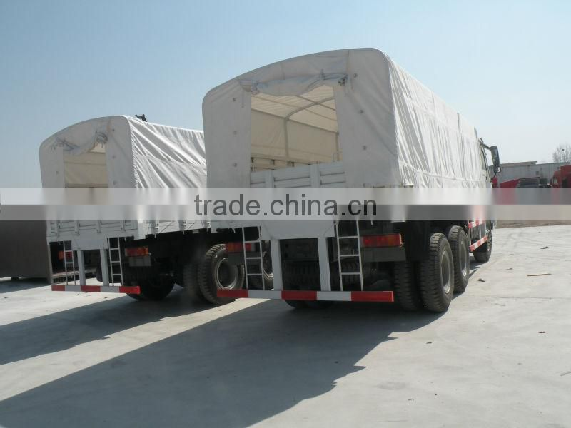 QINGZHUAN HOWO 4x4 cargo truck for military manufacturer trucks for sale