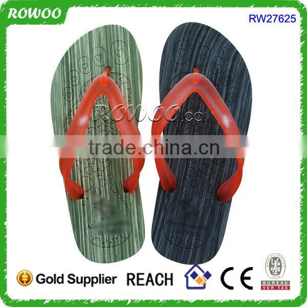 China Healthy men's eva beach slippers flip flops