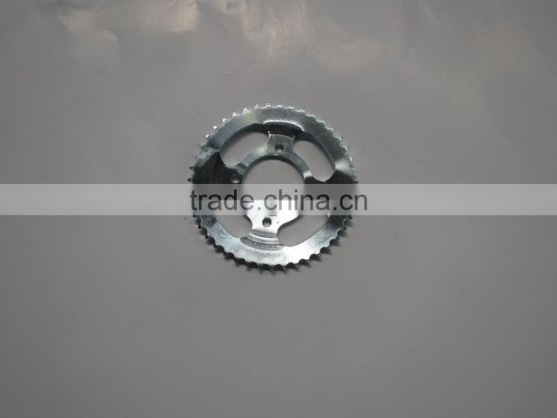 Genuine quality lower price chinese motorcycle spare parts chain Sprocket wheel