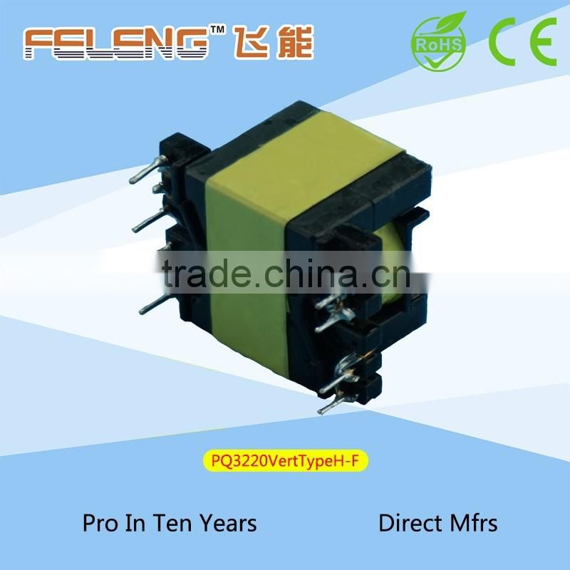 PQ3220 Vertical Type High Frequency Transformer