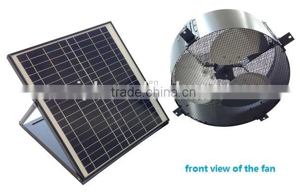 vent goods 20w 24v brushless motor attic venting fans roof mounted industrial exhaust fan flexible solar penel