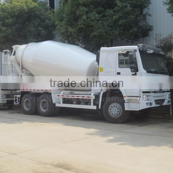 340hp 6*4 HOWO Cement Mixer truck 10 m3