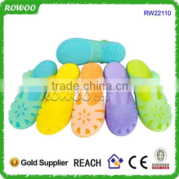 transparent colorful nursing clogs 2016,frozen gel aqua shoes eva clogs