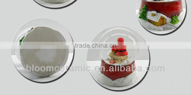 Decorative hot christmas waterball