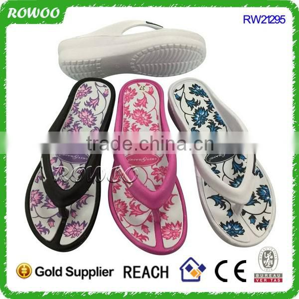 2016 new style eva non-slip slipper men indoor flip flop