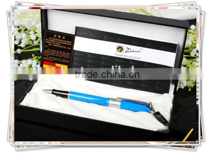XJ-P923 picasso Peace Sea Blue Roller Ball Pen/PraguePen new design gift pen