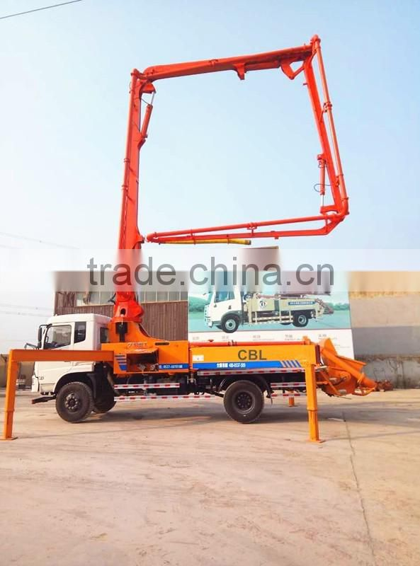 stationary concrete placing boom