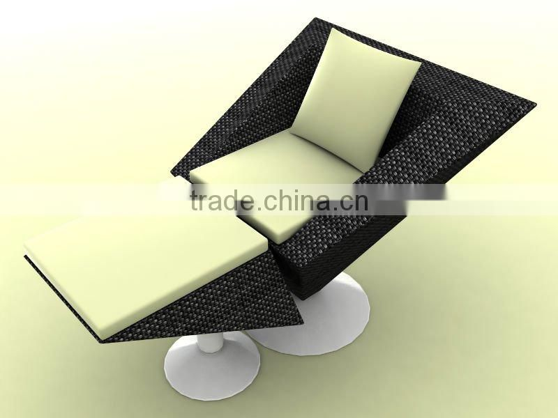 outdoor wicker furniture or garden rattan leisure sofa