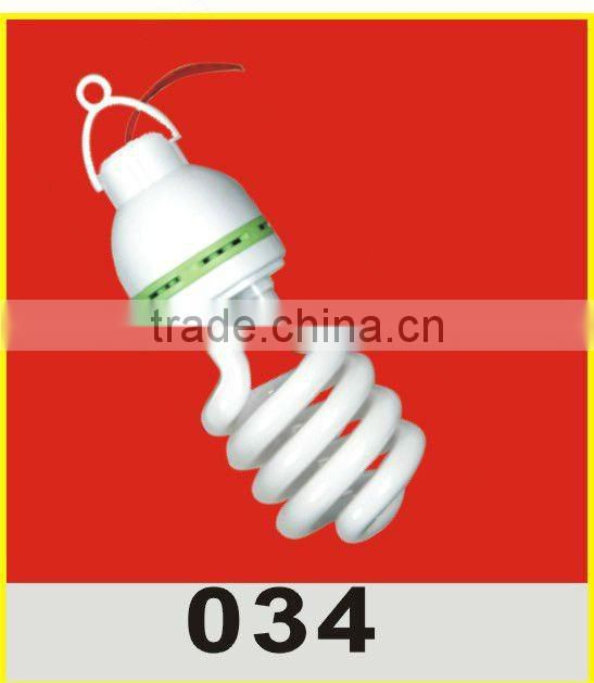 7W Spiral energy saving bulb CFL bulb with cheap price and durable performance