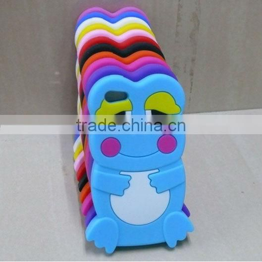 hot sale 2013 Silicone frog mobile phone cover