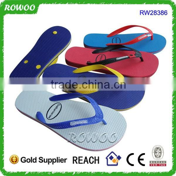 wholesale jelly plain China cheap plastic flip flops