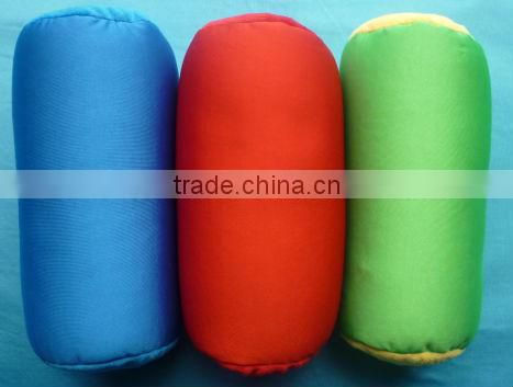 100% beads filled column shape beads pillow TRBP1