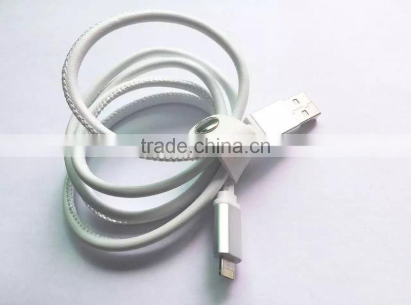 For Common LM 2 connector in 1 cable for iphone and android charging and sync
