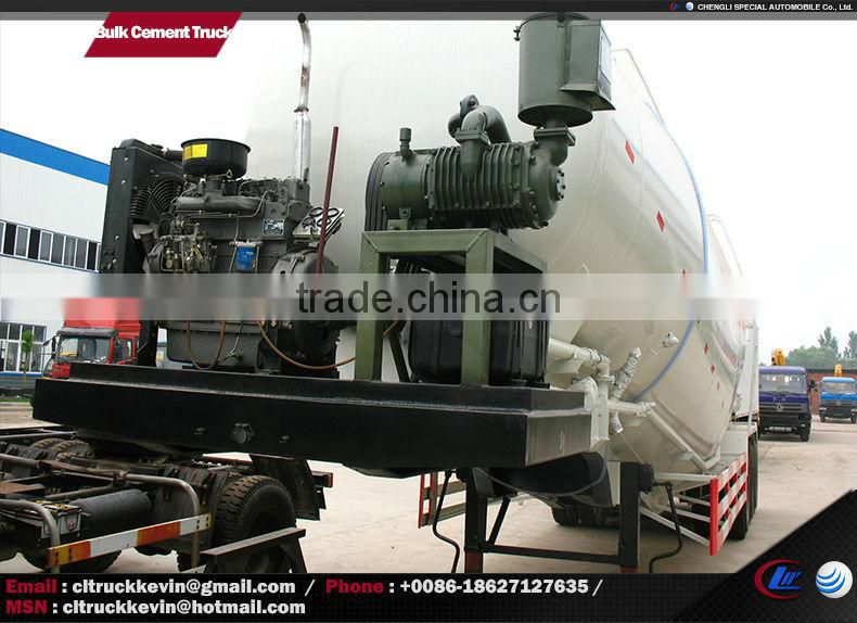 3 axles bulk concrete tanker trailer