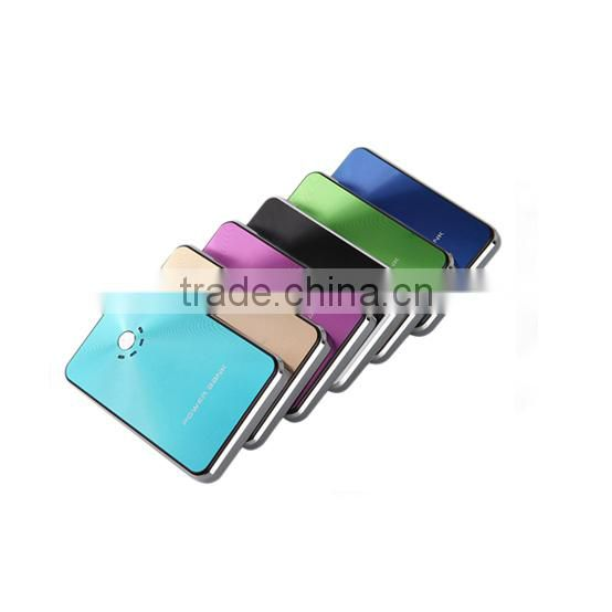 Dual USB Emergency Universal USB externer battery Charger 8000mAh Power bank for Samrtphone