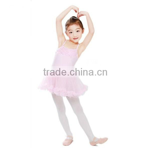 New Design Kids Short Dress for Party Latin Dance Costumes OEM