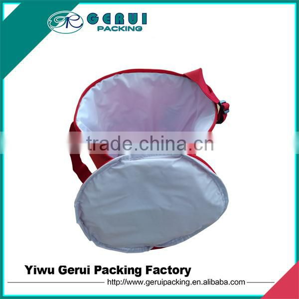 polyester cylindrical cooler bag