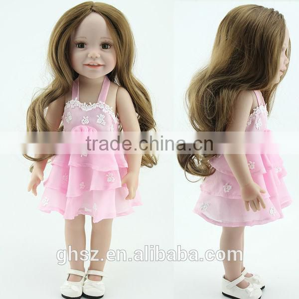 Guohao hot sale custom doll,plastic doll