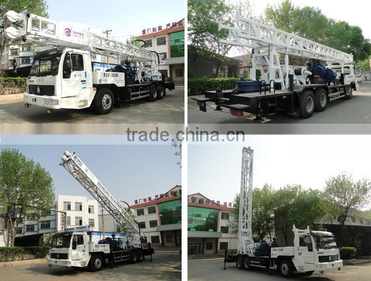 track mounted drilling rig