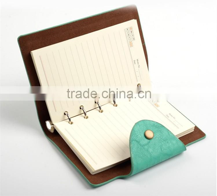 small size cheap bulk blank notepad , leather note book ,paper note book