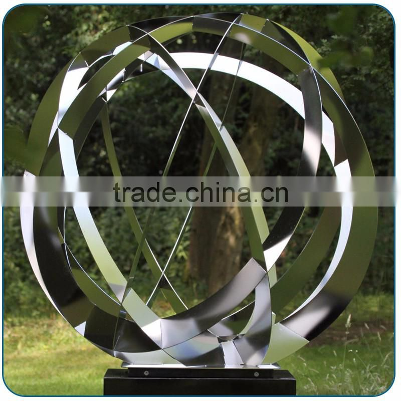 New design metal welded abstract sculpture for home decorative