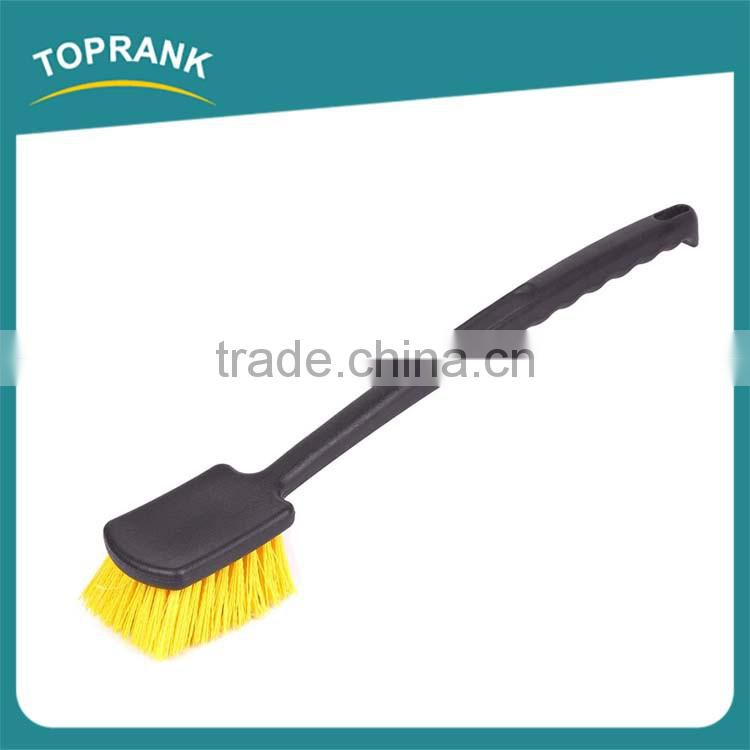 Cheap wholesale car cleaning tire brush long handle car wheel brush