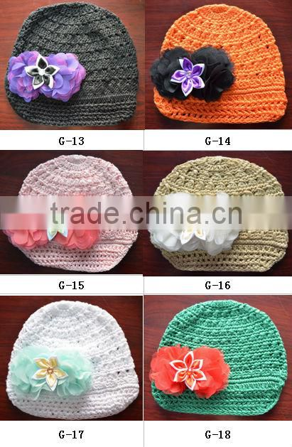 2014 baby accessories new products photography props for babys crochet baby hat newsboy lovely hat
