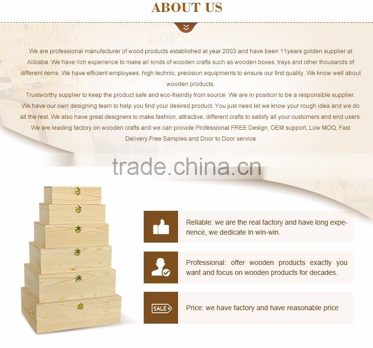 Cylinder flexible wood veneer gift box wholesale
