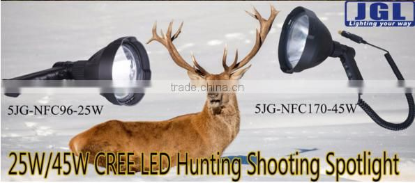 hihg quality hand held hunting lamp 10w rechargeable led hunting light